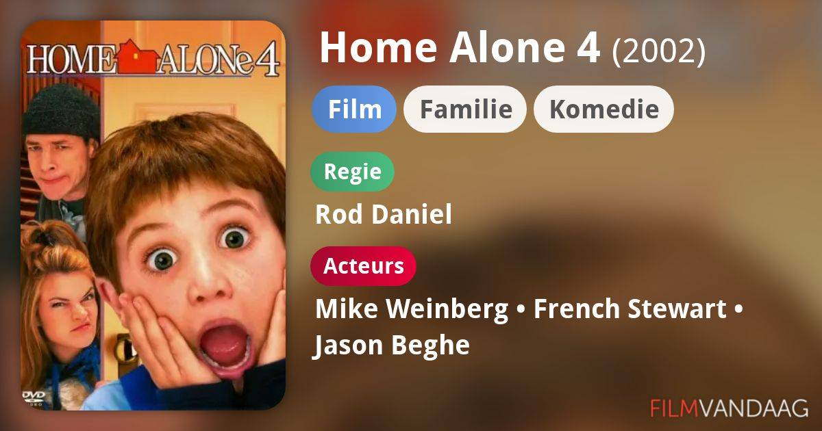 The Wonderful World of Disney Home Alone 4: Taking Back