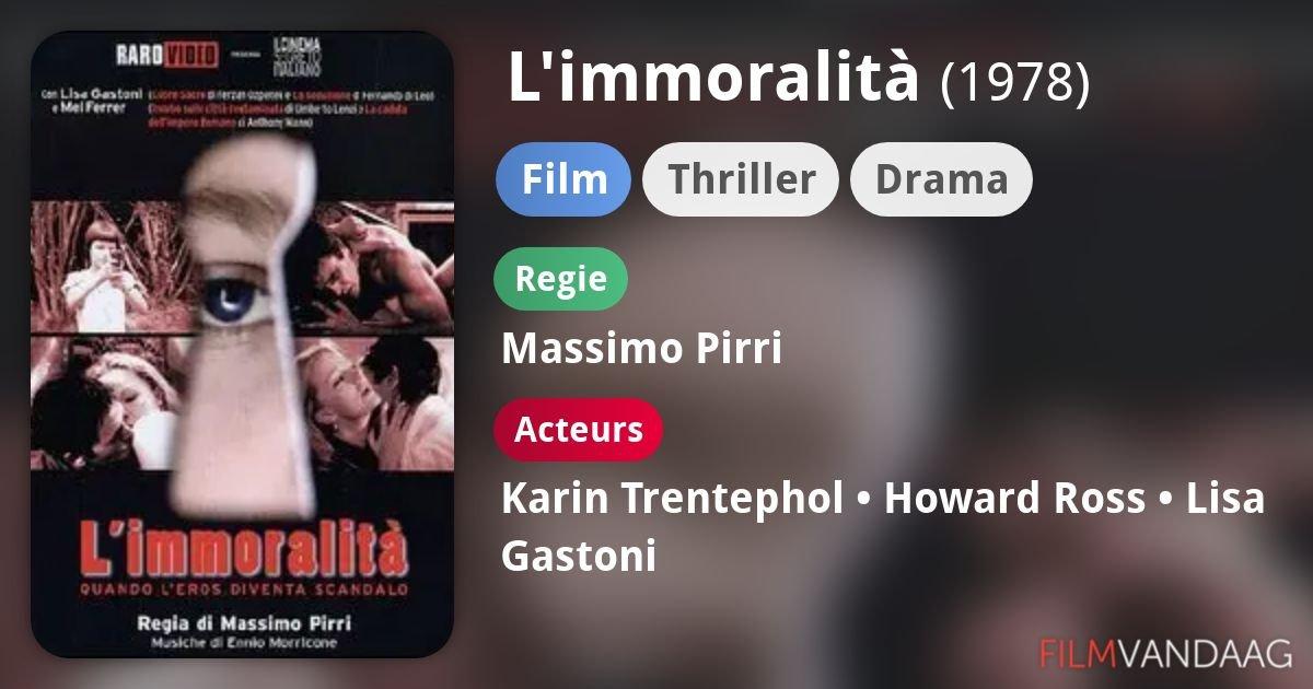 Limmoralita L'immoralità 1978