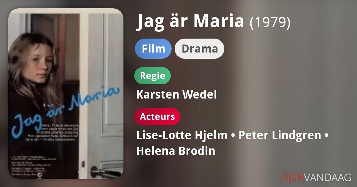 Jag är Maria 1979 Film   Filmer.cz