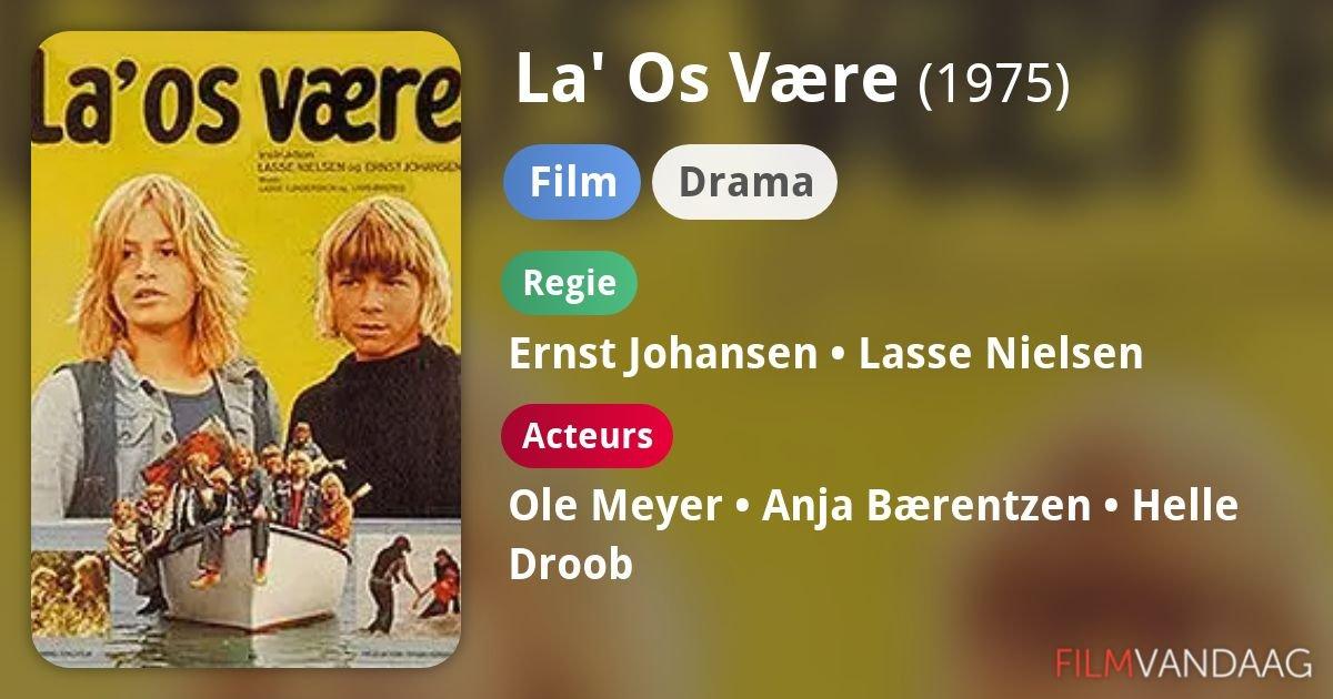 CinemaBomb: La os være / Leave Us Alone. 1975. DVD.